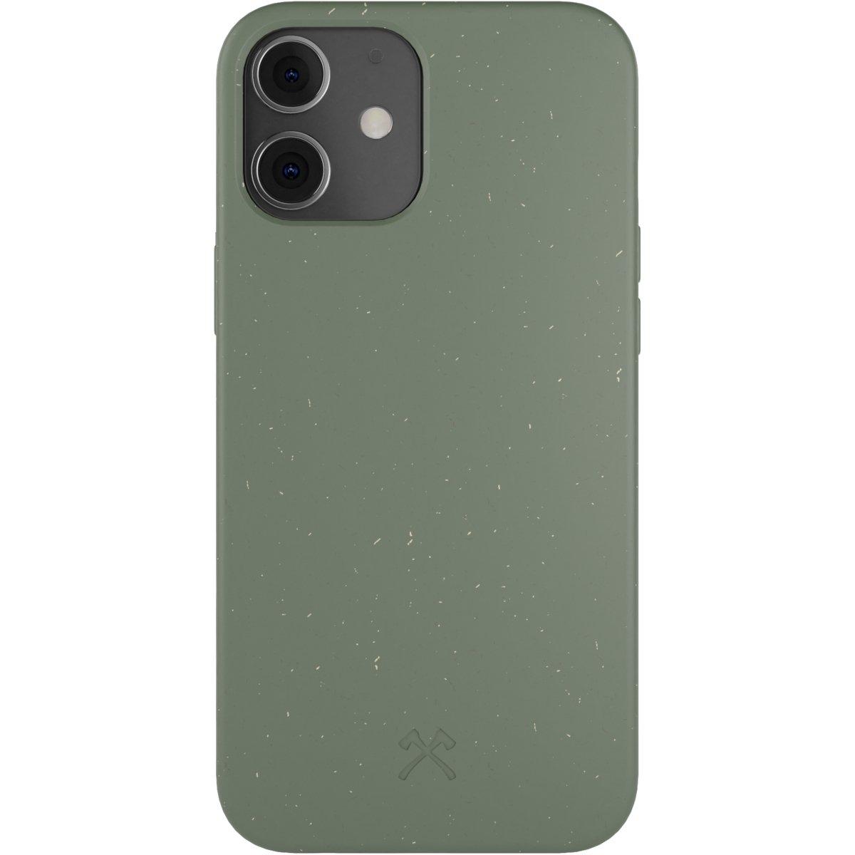 Woodcessories Bio Case AM iPhone 12 Mini - green