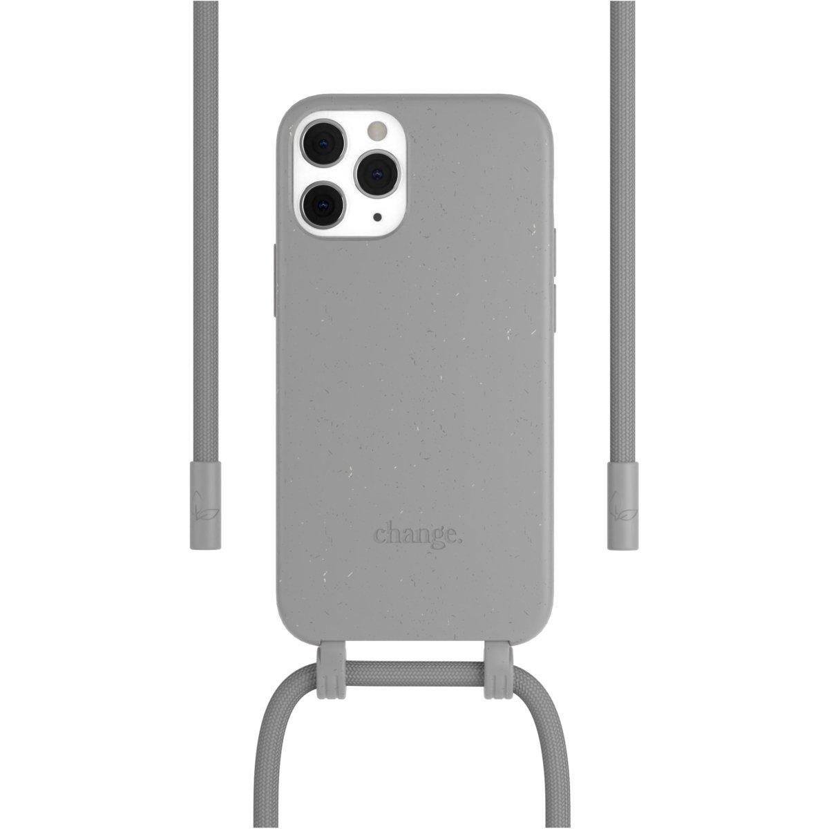 Woodcessories Change Case AM iPhone 12 / 12 Pro - grey
