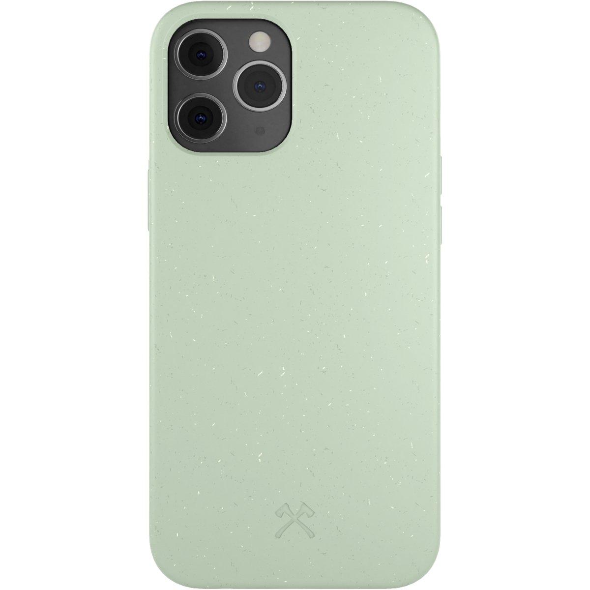 Woodcessories Bio Case AM iPhone 12 / 12 Pro - mint