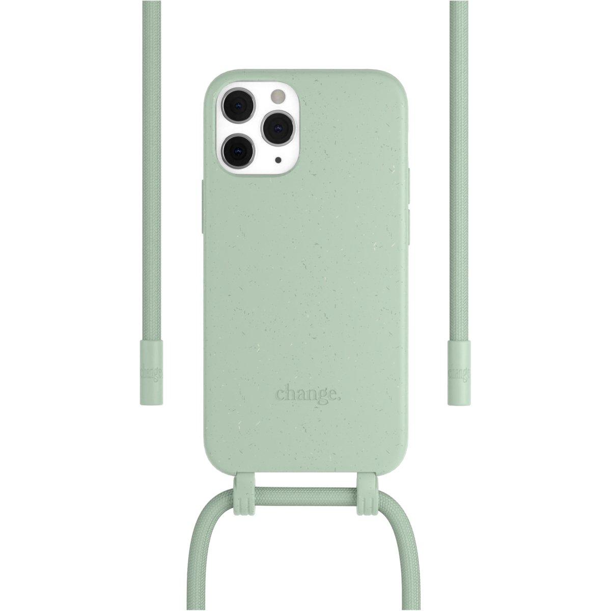 Woodcessories Change Case AM iPhone 12 / 12 Pro - mint