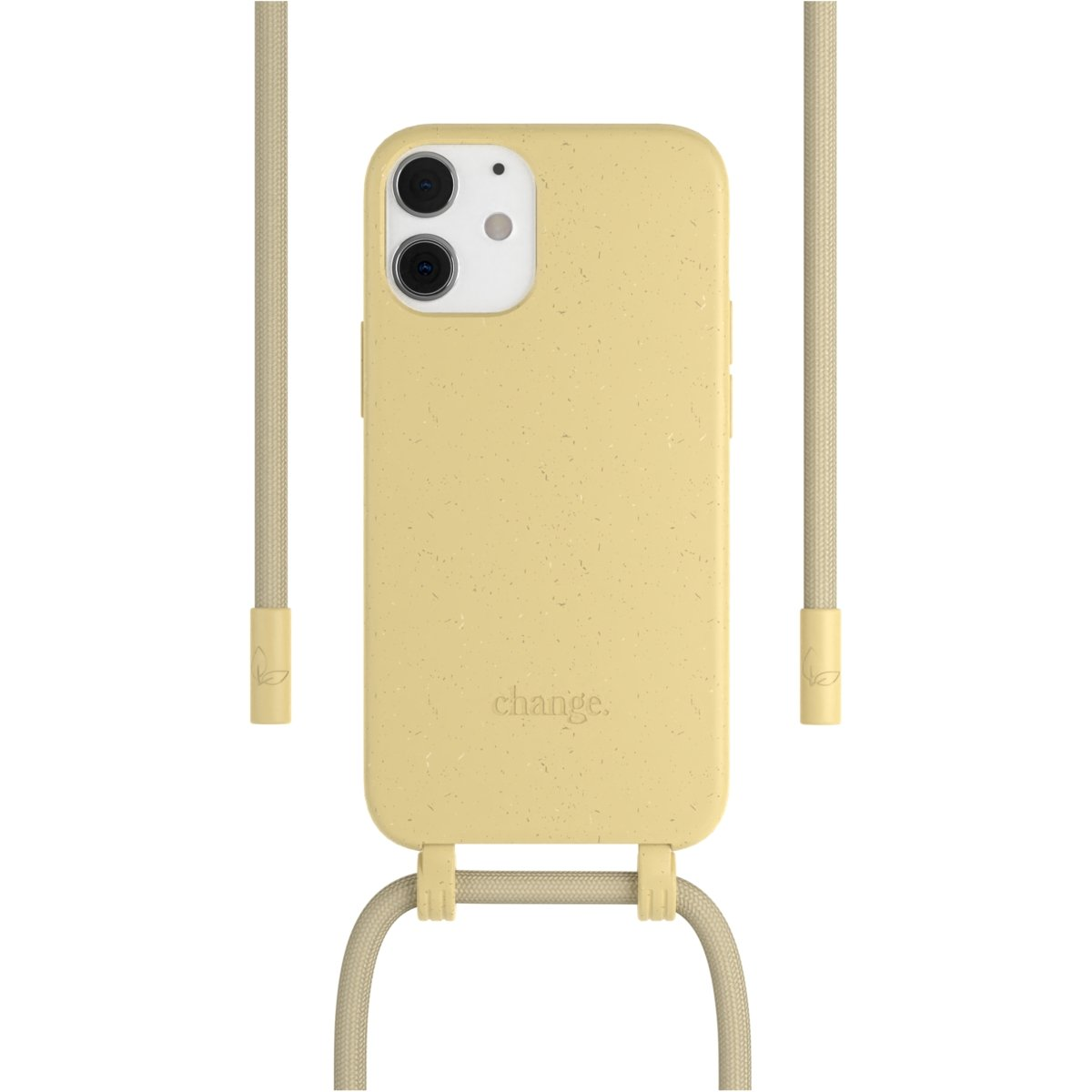 Woodcessories Change Case AM iPhone 12 Mini - yellow