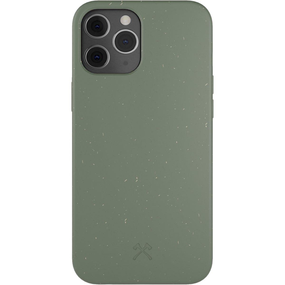 Woodcessories Bio Case AM iPhone 12 Pro Max - green