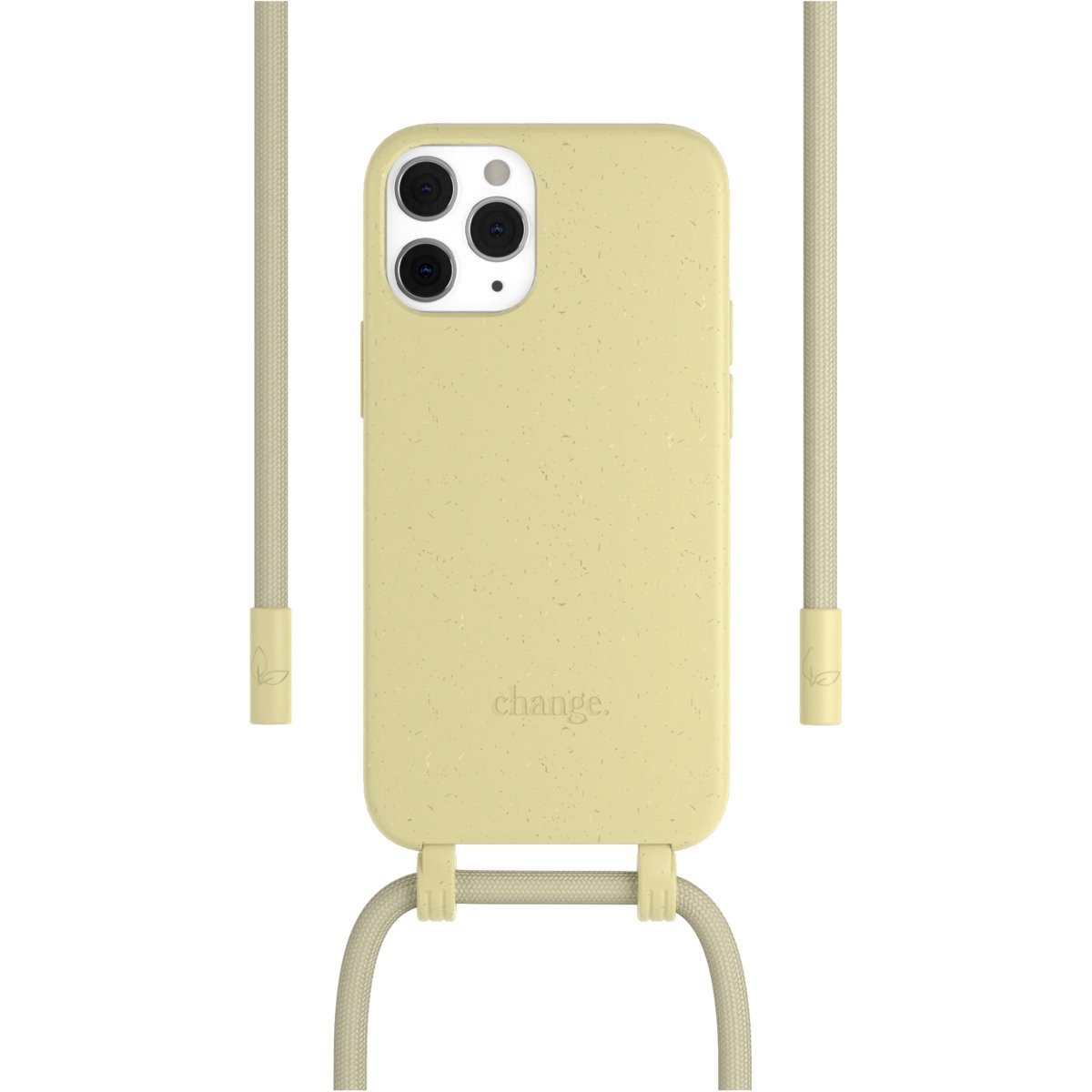 Woodcessories Change Case AM iPhone 12 / 12 Pro - yellow