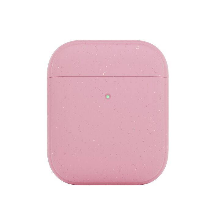 Woodcessories AirPods Bio Case - coral pink