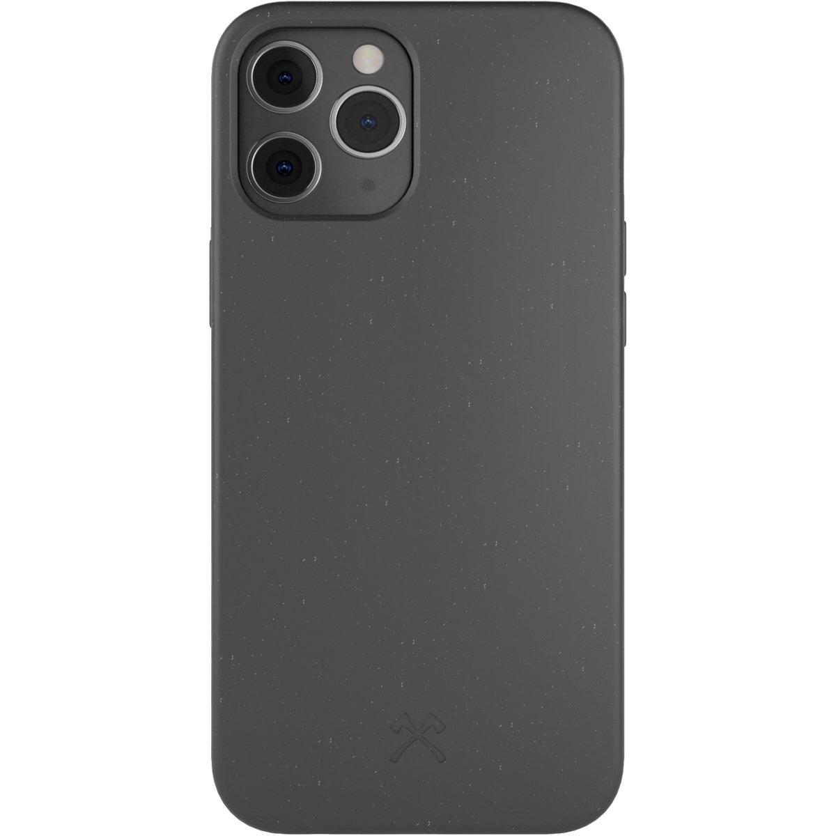 Woodcessories Bio Case AM iPhone 12 / 12 Pro - black