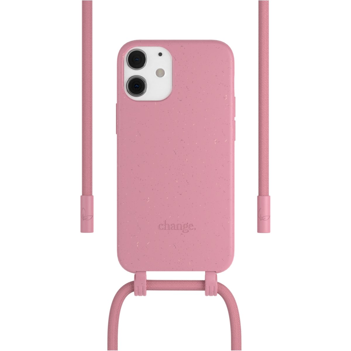 Woodcessories Change Case AM iPhone 12 Mini - pink