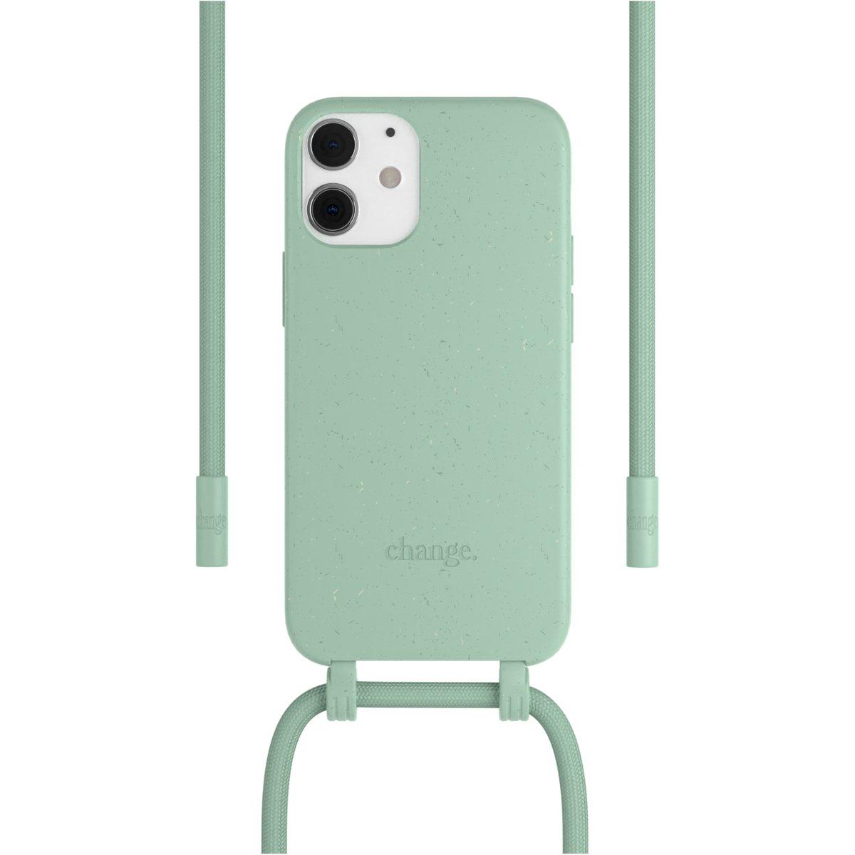 Woodcessories Change Case AM iPhone 12 Mini - mint
