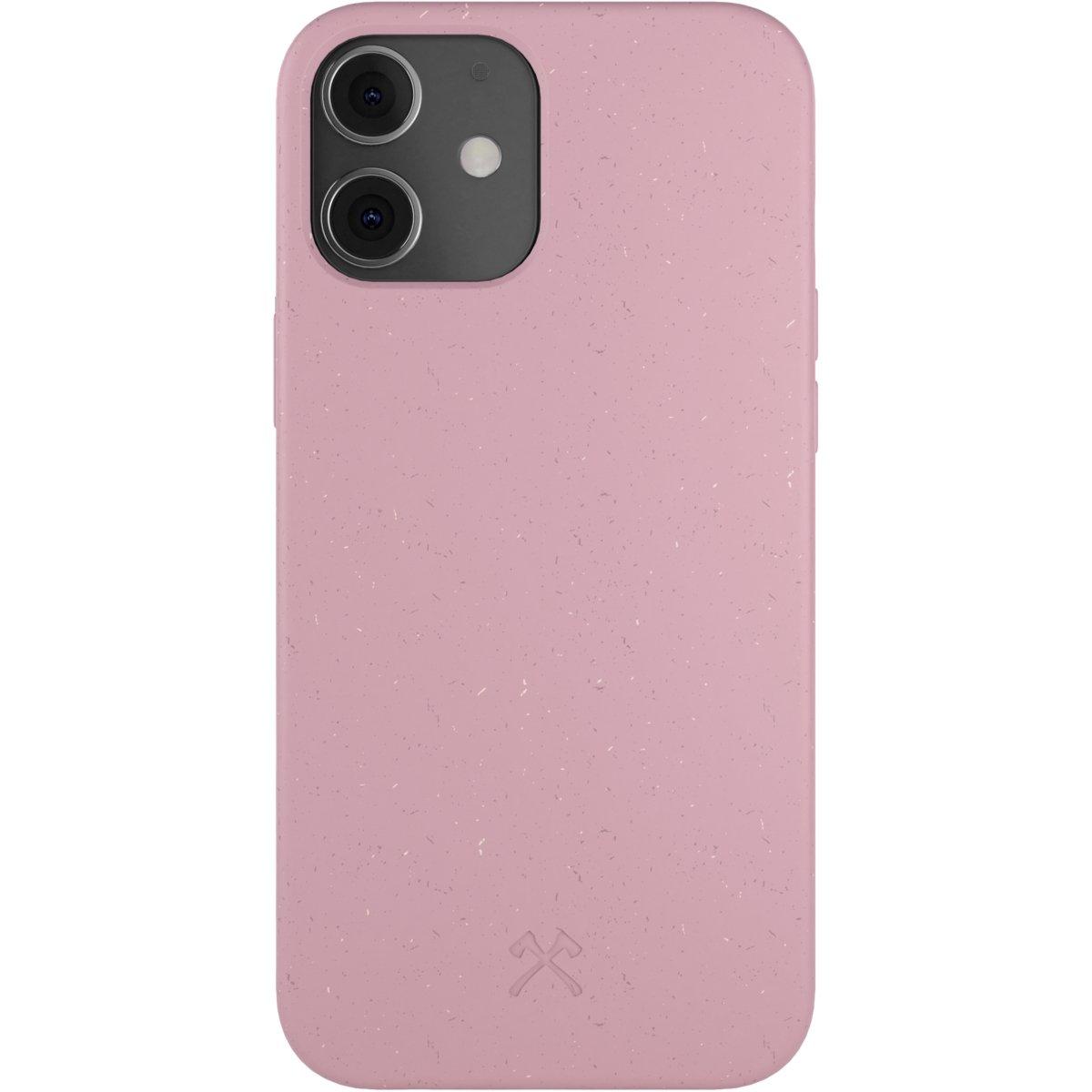 Woodcessories Bio Case AM iPhone 12 Mini - pink